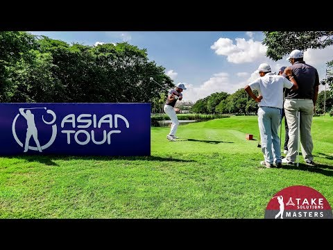 Golf in India at 4K : Asian Tour - Take Solutions Masters Bangalore 2017