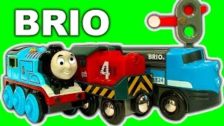 Brio Cargo Railway Deluxe Train Set NOT Thomas The Tank Stuck On Sodor