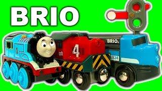 Brio Cargo Railway Deluxe Train Set NOT Thomas The Tank Stuck On Sodor