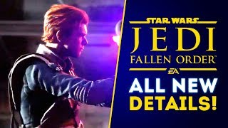 Star Wars Jedi Fallen Order ALL NEW DETAILS! Large Creatures Teased?! Non-Linear Experience!