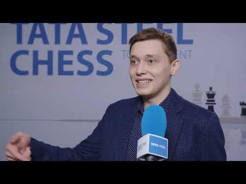 Andrey Esipenko - Post Round 8 Interview