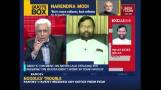 Nothing But The Truth: Ram Vilas Paswan Decodes Bihar Verdict