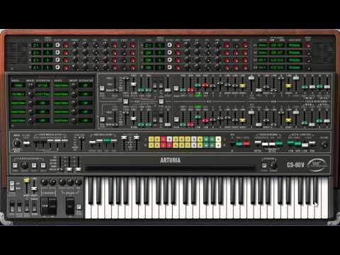 Délire sur Rencontres du troisième type (code musical) sur CS-80V2