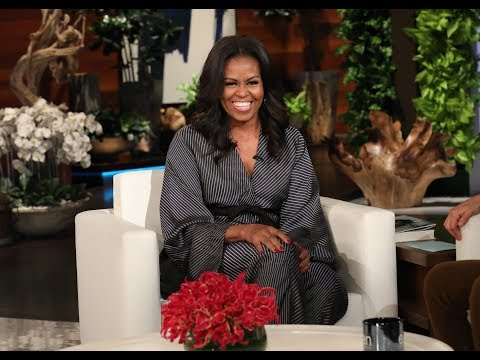 Michelle Obama in Ellen's Hot Seat Mp3