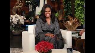 Michelle Obama in Ellen's Hot Seat