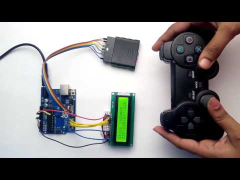 PS2 Controller Interfacing with Arduino - YouTube