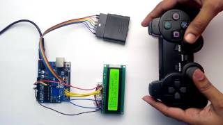 PS2 Controller Interfacing with Arduino