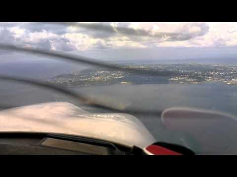 Landing at Guernsey Runway 27