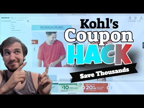 Kohl's Coupon Hack - How To Always Have The MAXIMUM Discount Possible