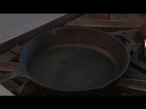 How to Remove Rust From Iron Skillets : Cooking Tips & Recipes