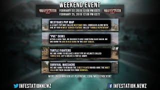 Infestation The NewZ - Weekend Event  แผ่นที่ Westoaks กลับมาแล้ว !