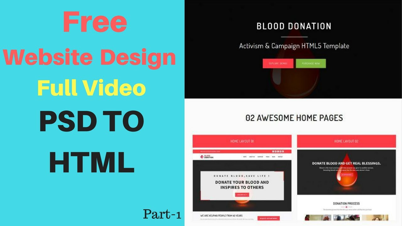 Web Design Video Tutorial for Beginners | Full Website Making ...