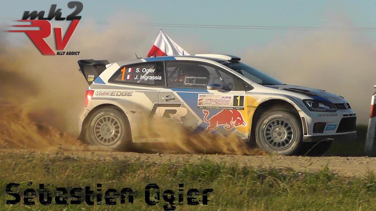 Best of Sebastien Ogier World Rally Champion 2014 VW POLO WRC - YouTube