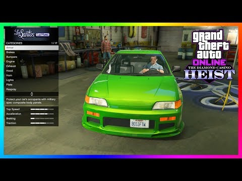 GTA 5 Online The Diamond Casino Heist DLC Update - NEW VEHICLE! Sports Coupe, Armored Cars & MORE!