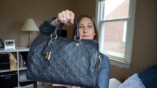 Whats in My Bag - Louis Vuitton Speedy 30 Empreinte