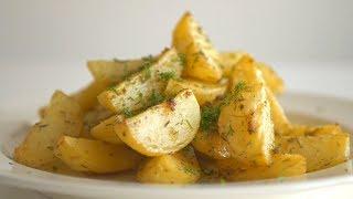 Картофель по-праздничному, запеченный в духовке