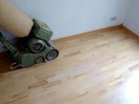 Holzfußboden Abschleifen Kosten ~ Parkett abschleifen kosten berlin youtube