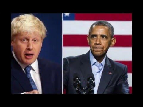 EU referendum: Boris Johnson accuses Barack Obama of 'hypocrisy'