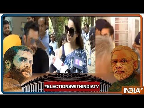 Loksabha Elections Phase 4: Kangana Ranaut casts her vote