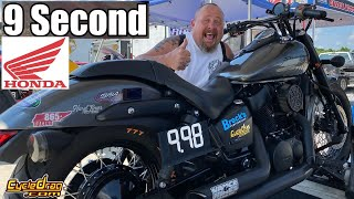 WHY he chose a HONDA SHADOW to race ZX10Rs &amp Hayabusa Bikes and how he will be adding NITROUS!