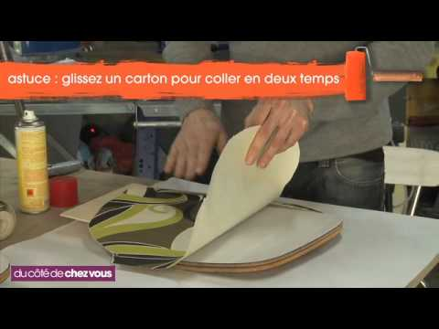 Relooking d une chaise en formica youtube - Nettoyer chaise en paille ...
