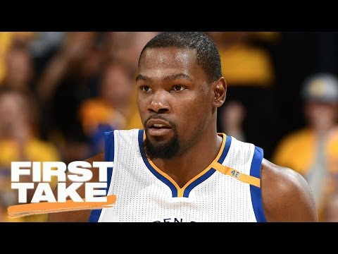 Stephen A. Skeptical Of Kevin Durant's Health | First Take | April 20, 2017