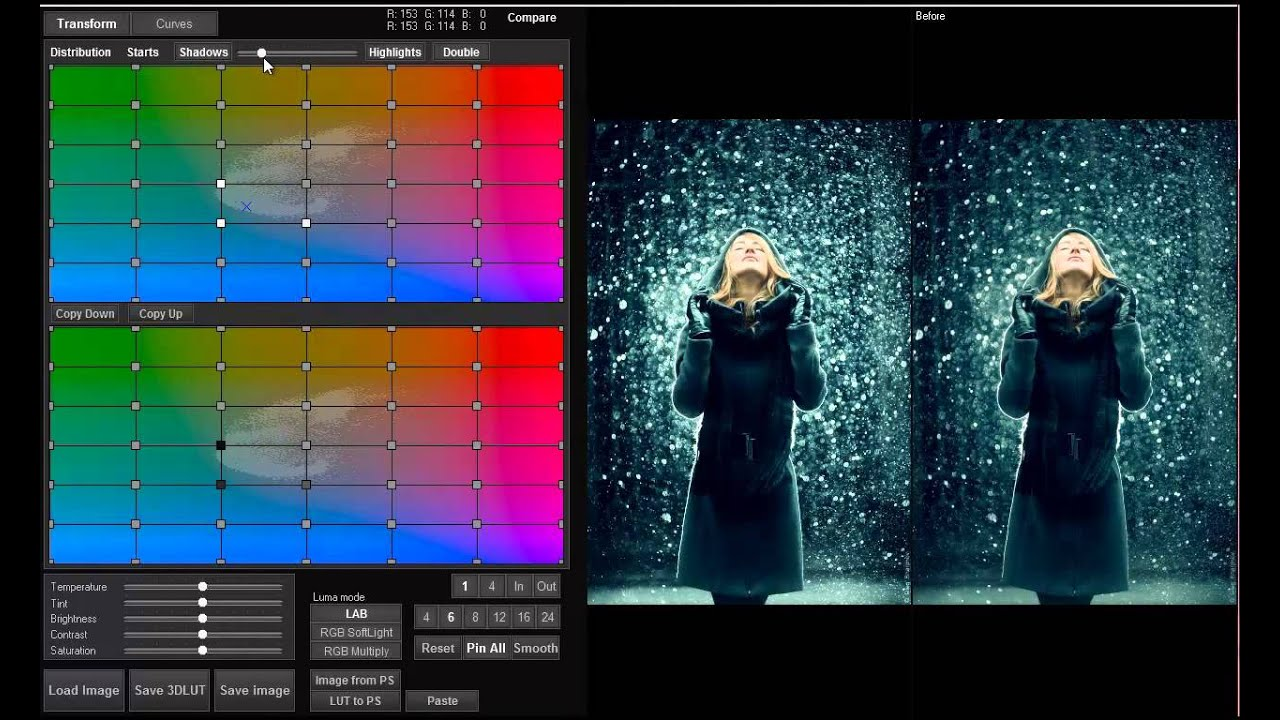 3d Lut Creator Double Grid English Youtube