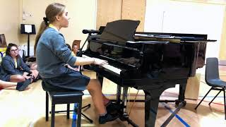 "Millie Stanley singing ""Lost Without You"" by Freya Ridings. Video"