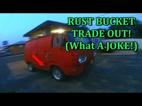 How To Trade A Car For A Pile Of Rusted JUNK!