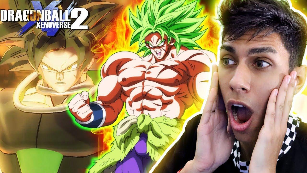 INEMAFOO - Dragon Ball Xenoverse 2: *NOVA DLC* BROLY SUPER SAIYAJI LENDÁRIO !! ‹ Ine ›