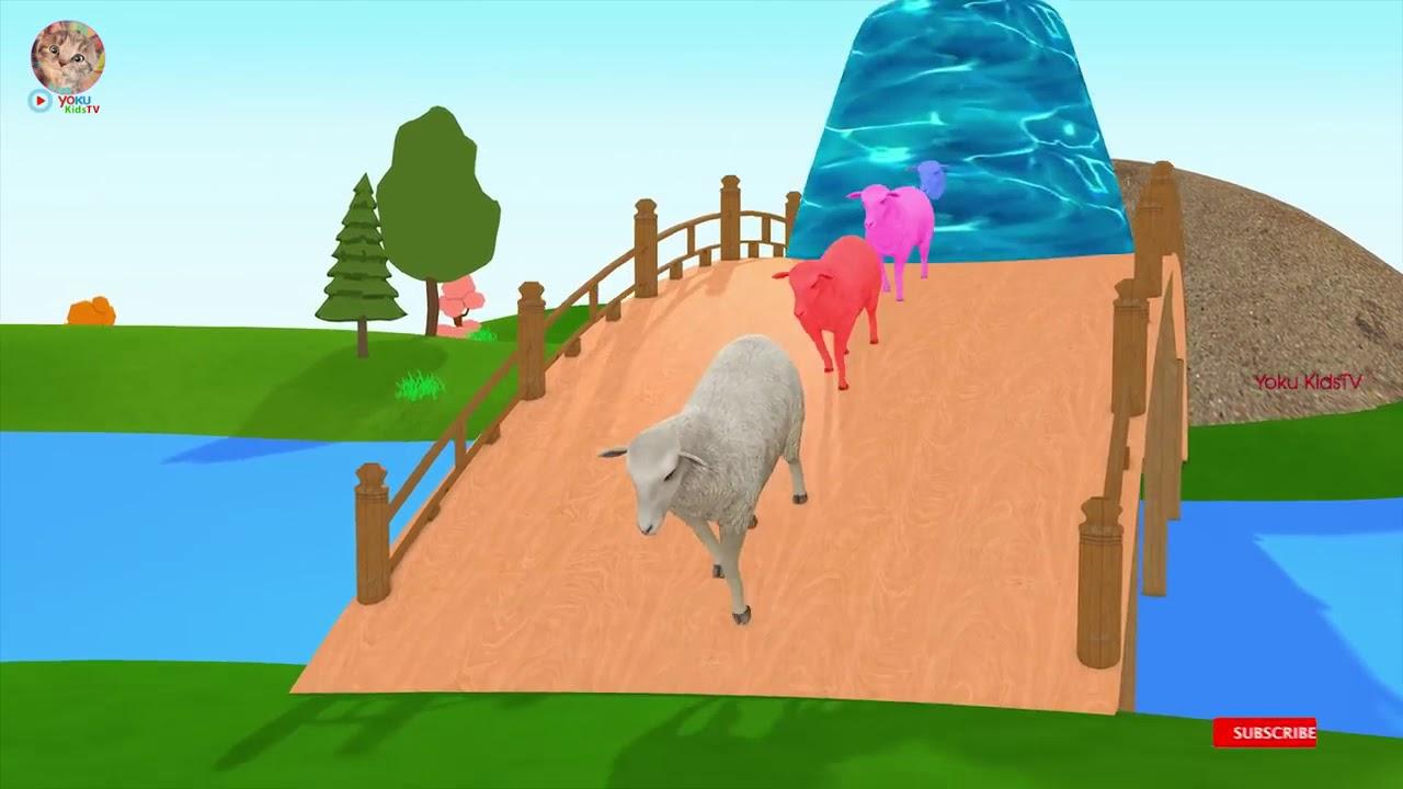 Kartun Binatang Lucu Hewan Ternak Dan Anak Anaknya Ditransformasikan Film Kartun Lucu