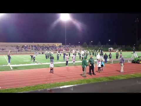 Bryan High School Marching band Omaha Marching Exhibition OME 9-27-16
