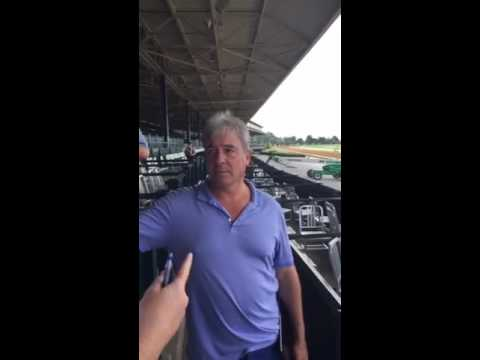 Interview with LADY AURELIA trainer Wesley Ward – August 11, 2016