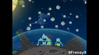 Angry Birds Space 1-18 3 Stars Walkthough