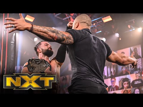 O'Reilly pummels Cole, Kross confronts Bálor: WWE NXT, March 10, 2021