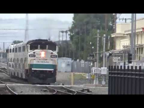 Afternoon Rush Hour At Metrolink Orange Station - April 6, 2017 - Segment 3