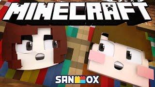 도티&잠뜰 블럭으로 하나되다!! [블럭 숨바꼭질: 마인크래프트] Minecraft - Hide and Seek - [도티]