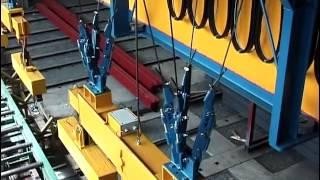 Кран мостовой без раскачивания груза(Кран мостовой двухбалочный без раскачивания груза г/п 2 х 3,2 тонн., 2013-11-01T15:14:29.000Z)