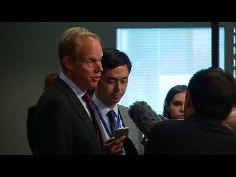 Matthew Rycroft (UK) on the work of the Security Council & other matters - Press Encounter
