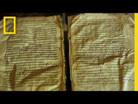 Mysterious, Ancient Bible On Display | National Geographic