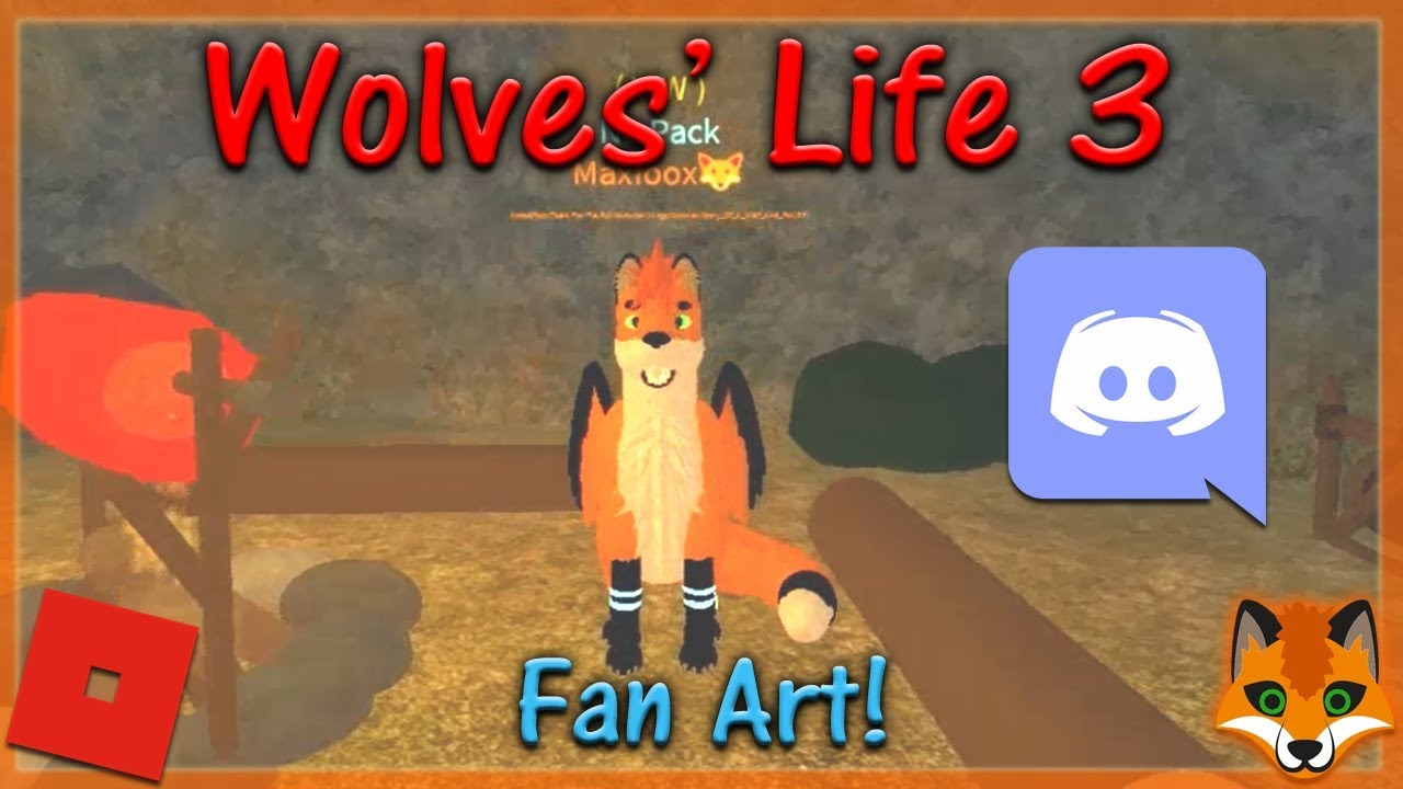 Roblox Wolves Life 3 How To Join Shyfoox Studios Group Hd - Roblox Wolves Life 3 Fan Art 8 Hd Youtube