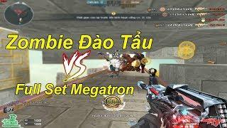 Chế Độ Mới HOT Nhất: Zombie Đào Tẩu Vs Full SET VIP Mới Megatron   TQ97