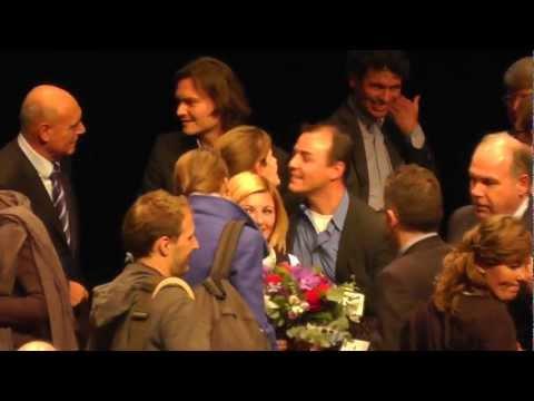 Prijsuitreiking winnaars Herman Wijffels Innovatieprijs 2012 ( Winnaar Suma Energy )