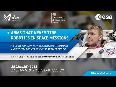Arms that never tire: Robotics in space missions