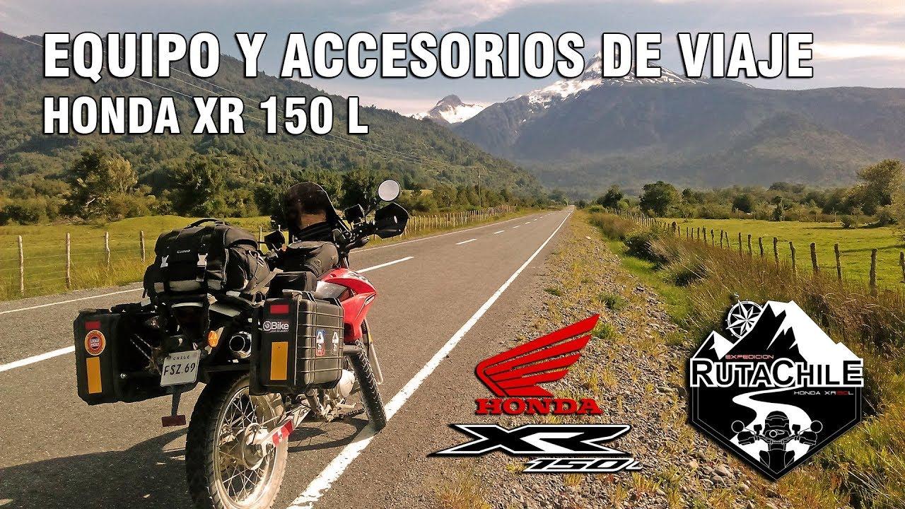 Expedición Ruta Chile - Equipo para Viaje moto Honda ...