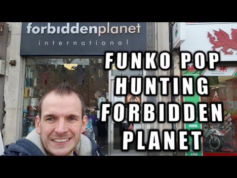 FUNKO POP Hunting Forbidden Planet International Cardiff, Wales