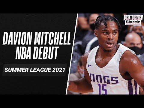 Davion Mitchell makes his NBA Summer League Debut against the Warriors! 23 Points, 3 Rebounds, 1 Assist & 3 Steals!