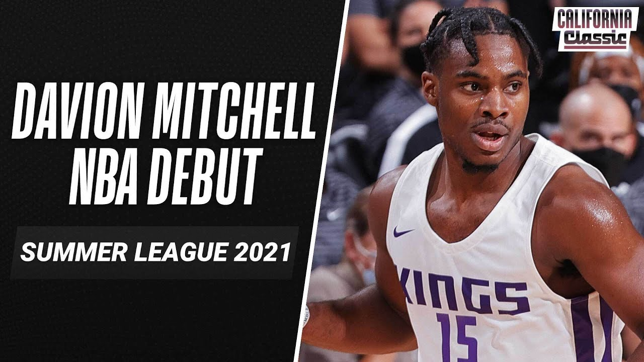 Davion Mitchell (23 PTS) SHOWS OUT in NBA Debut for Kings! 💪