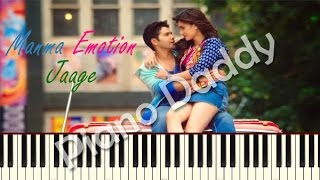 Manma Emotion Jaage - Dilwale Piano Tutorial | Notes | Sheet Music ~ Piano Daddy