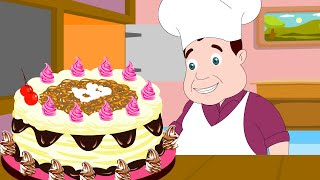 Pat A Cake Nursery Rhymes with Lyrics Ep - 41
